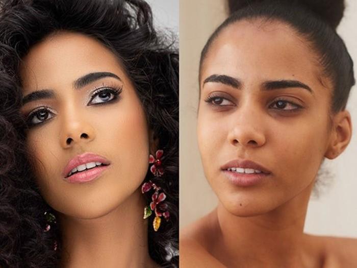 Участницы «Мисс Вселенная 2019» показали свою внешность без макияжа
