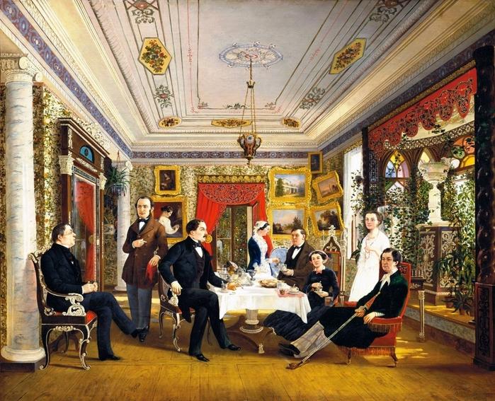 рисунок этикет российской империи носили лично-командный характер