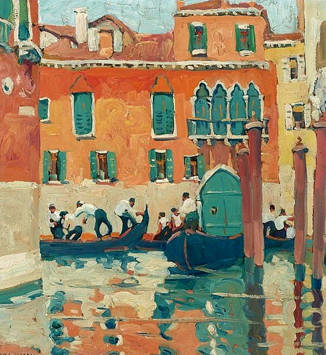 jane-peterson-red-house-venice (642x700, 599Kb)