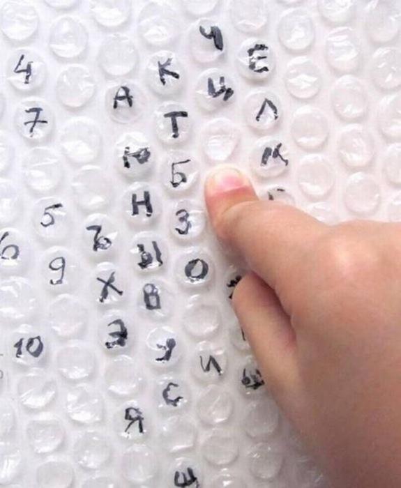Способы применения пленки с пузырьками: не только от стресса!