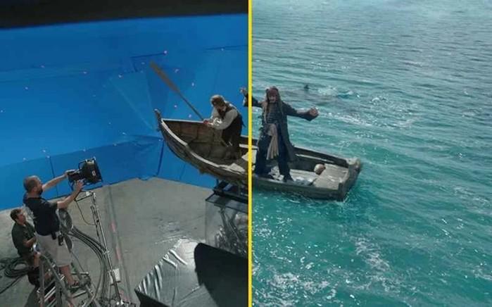 Фильмы до и после спецэффектов