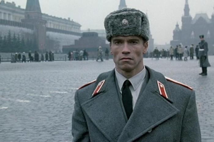 Мировые актёры в Москве на Красной площади