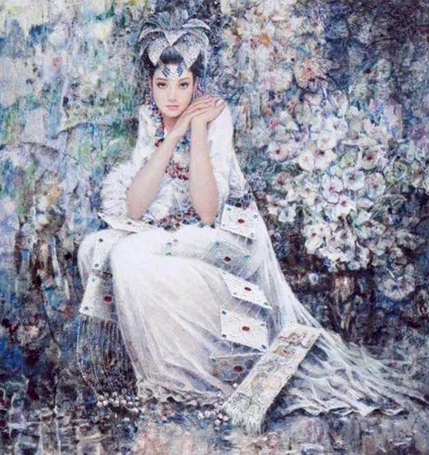 Чень Чунпин: Необычные картины китайского художника