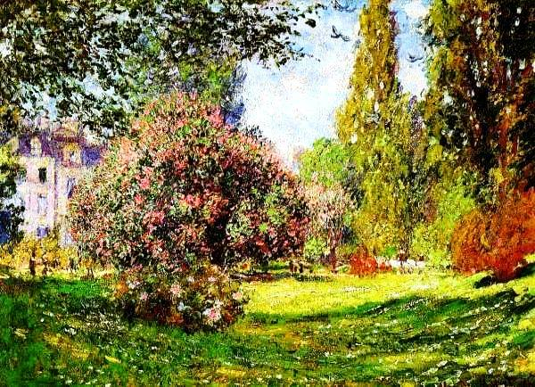 18 Claude Monet The parc Monceau 1876 (600x434, 431Kb)