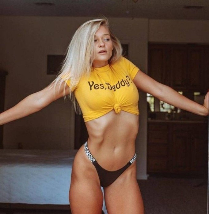 Фотографии спортивных девушек