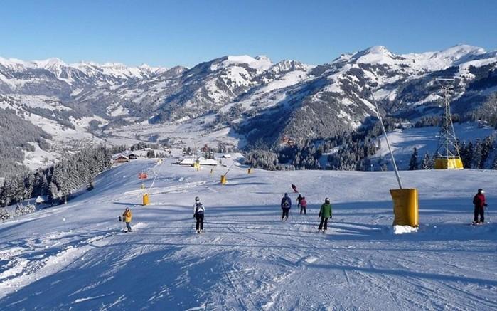 Знаменитые горнолыжные курорты Швейцарии
