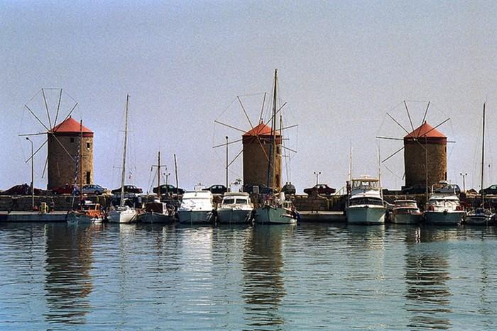 Знаменитые старые ветряные мельницы