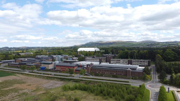 Университет Heriot-Watt Эдинбург, Шотландия, природа, заповедник,