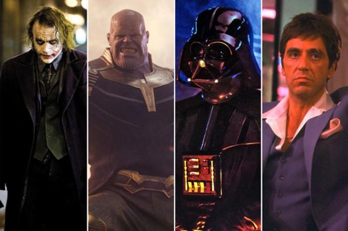 Самые популярные злодеи из фильмов