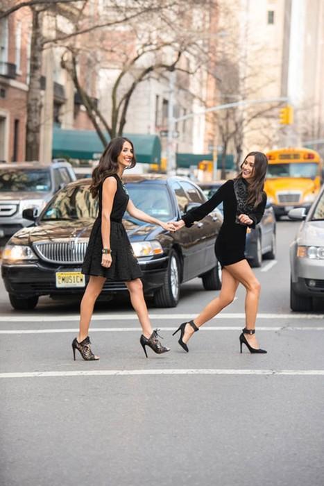 Девушки Нью Йорка против девушек Лос Анджелеса