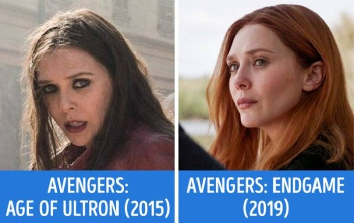«Avengers» In Their First And Last Movies