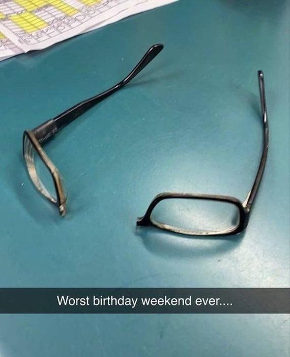 Плохие дни бывают... (смешные фотографии)
