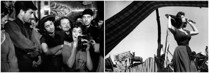 Подборка фотографий со съемочных площадок культовых фильмов