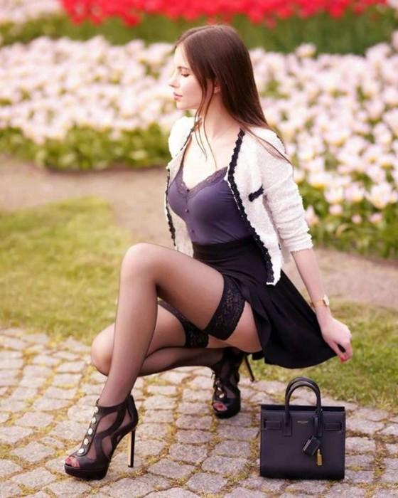 Девушки с длинными ногами (фотографии)