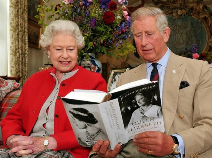Какие книги читают члены британской королевской семьи