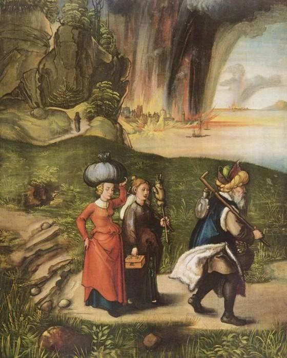 «Лот и его дочери»: Подборка живописи и не только