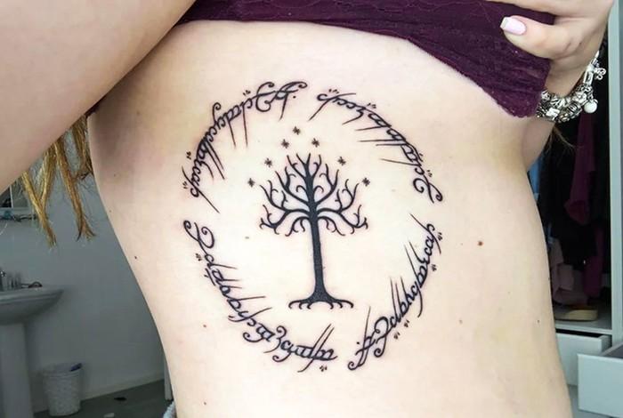 Части тела, на которых не рекомендуется делать татуировки