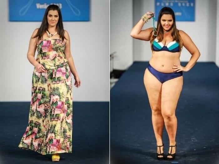 Полная модная элегантность (фотографии полных моделей в купальниках)