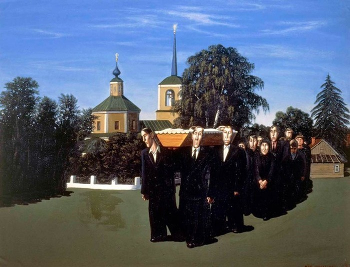 Художник Василий Шульженко. Социальная ирония от знатока русской души
