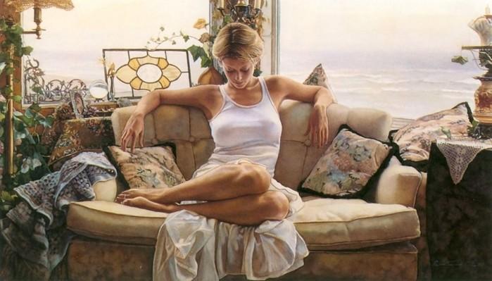 Чувственные картины Стива Хэнкса в стиле «эмоционального реализма»