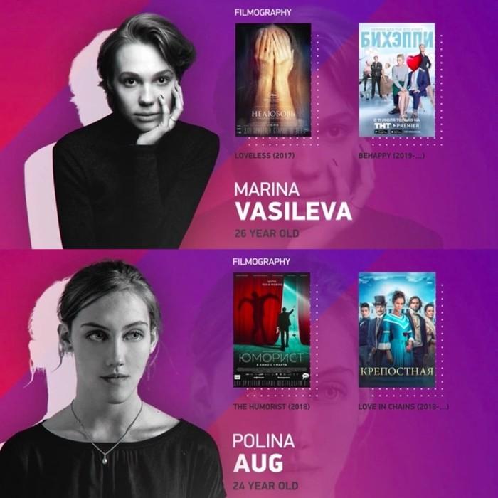 Названы главные российские актёры и актрисы до 30 лет