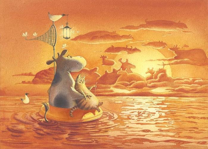 Самые крутые иллюстраторы, которые переносят читателя в волшебный мир книги
