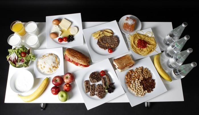 Завтрак, обед и ужин настоящего олимпийского чемпиона