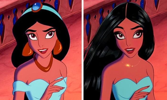 Если бы принцессы Диснея родились в наше время...