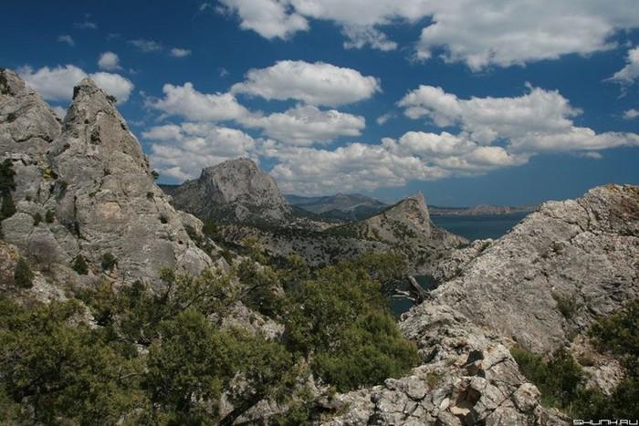 Лучше гор могут быть только... крымские горы