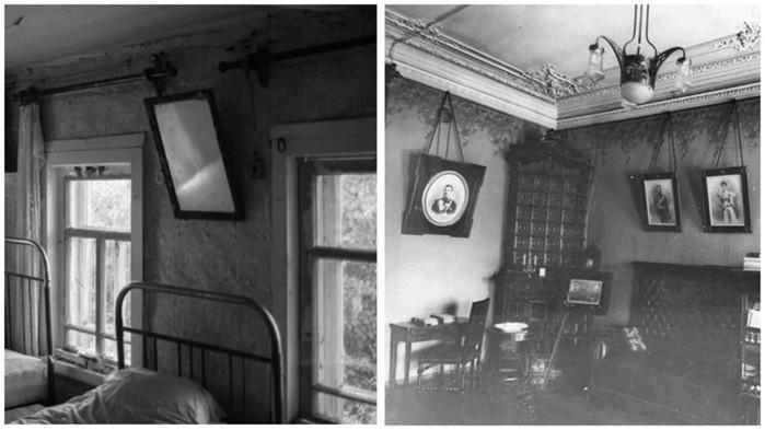 Почему в СССР зеркала, картины и фотографии вешали под углом