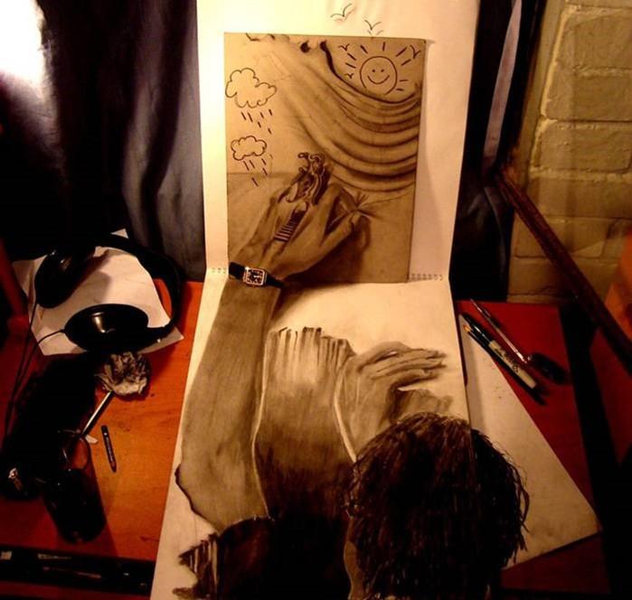 Ожившие кошмары 17 летнего художника