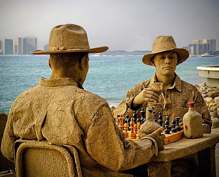 Невероятные песчаные скульптуры из разных мест