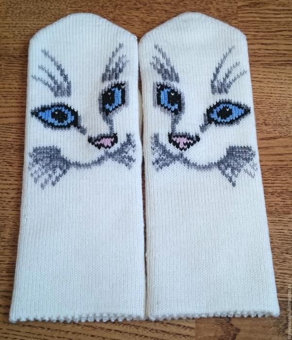 Варежки с котами 1 (601x700, 729Kb)