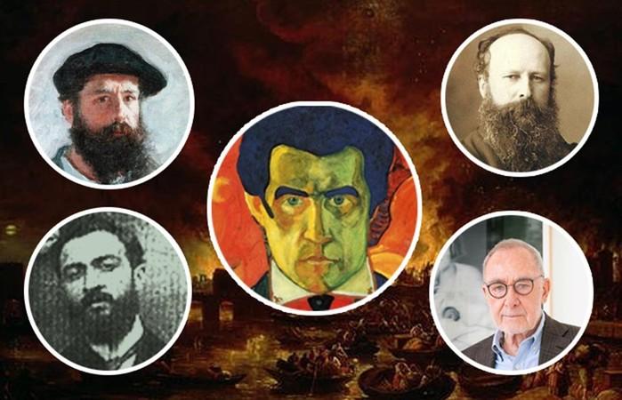 Какие художники уничтожали свои картины