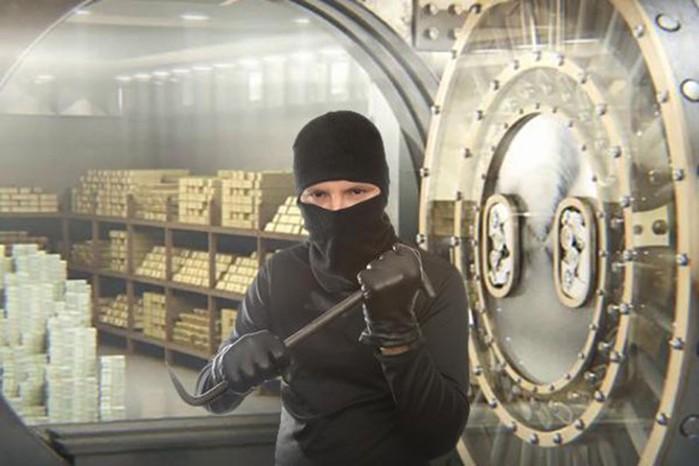 10 крупнейших ограблений XXI века