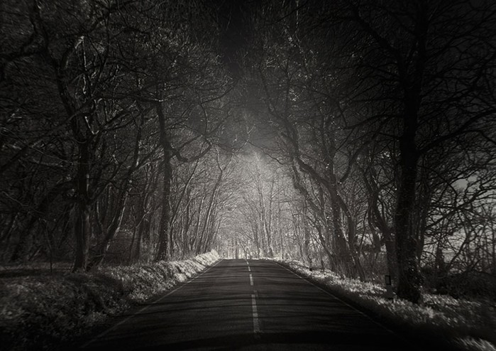 Одинокие и красивые дороги со всего мира