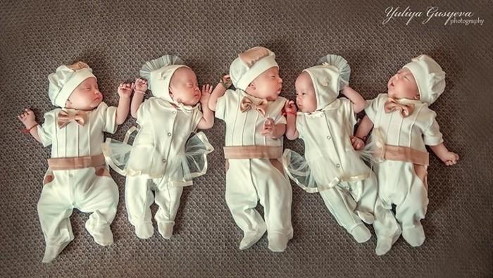 Почему сбежал папа, или Истории семей, где родилось 5 детей сразу