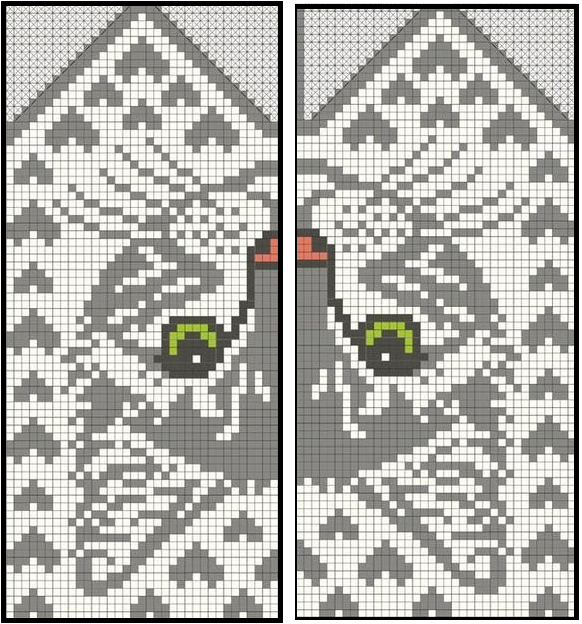 Варежки с котами 16а (582x624, 495Kb)