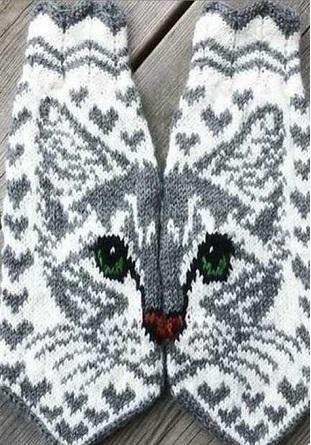 Варежки с котами 16в (311x445, 251Kb)