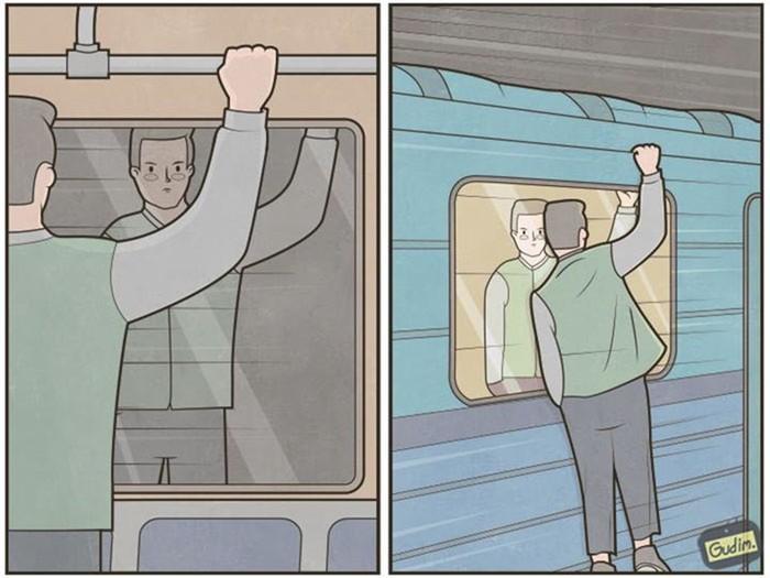 Антон Гудим и его меткие саркастические иллюстрации