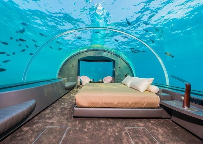 Подводная вилла: на Мальдивах открылся роскошный отель