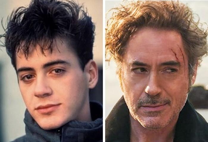 Как изменились знаменитости с момента своей первой роли