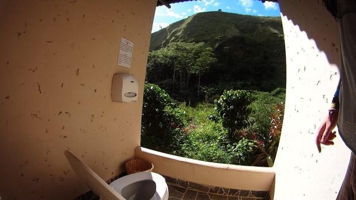 Туалетные комнаты с потрясащими роскошными видами