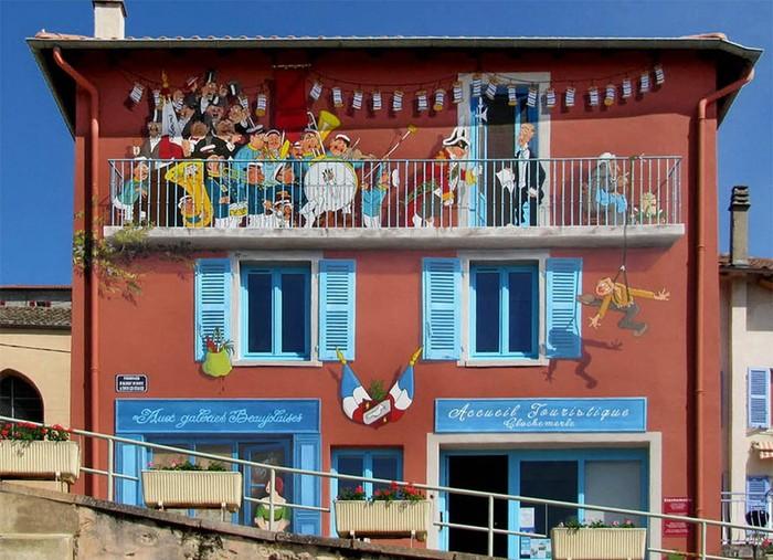 Самые реалистичные граффити муралы французского художника