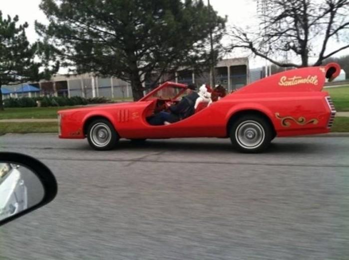Сумасшедшие автомобили: фото и анимация