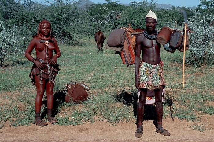Песни племени химба из Намибии