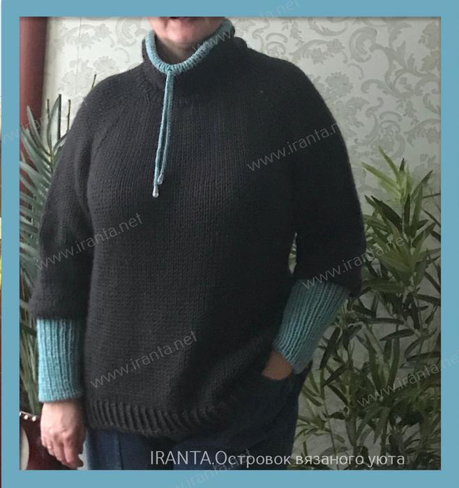 Simple sweater. 11 (658x700, 370Kb)
