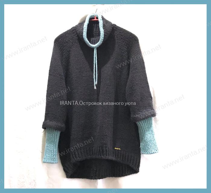 Simple sweater. 23 (700x639, 234Kb)
