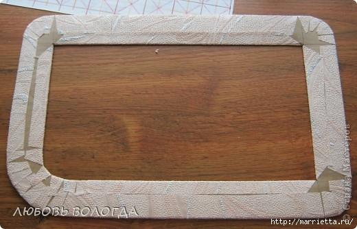 Плетение из газет. Мастер-класс на крышку с цветным узором из трубочек (5) (520x334, 125Kb)