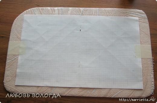 Плетение из газет. Мастер-класс на крышку с цветным узором из трубочек (7) (520x342, 100Kb)